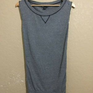 Armani Exchange Small Side Zip Sleeveless Dress
